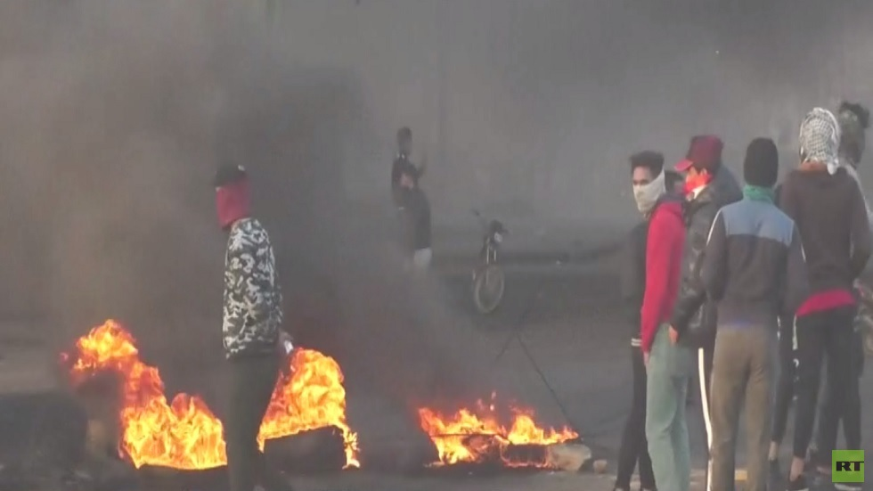 تواصل الاحتجاجات في مدن جنوب العراق