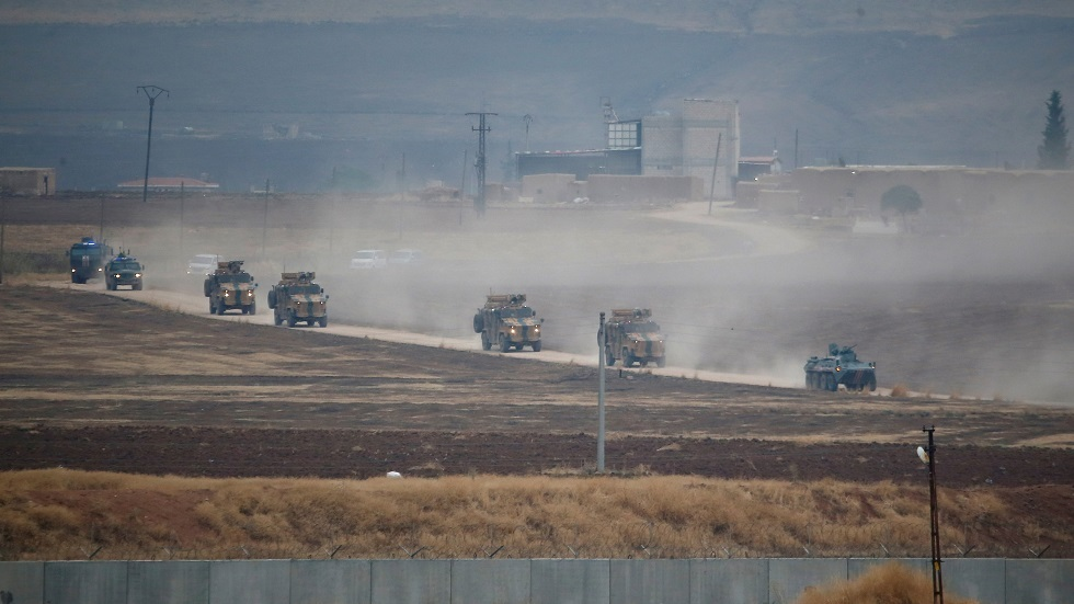 عربات عسكرية تركية شمال سوريا