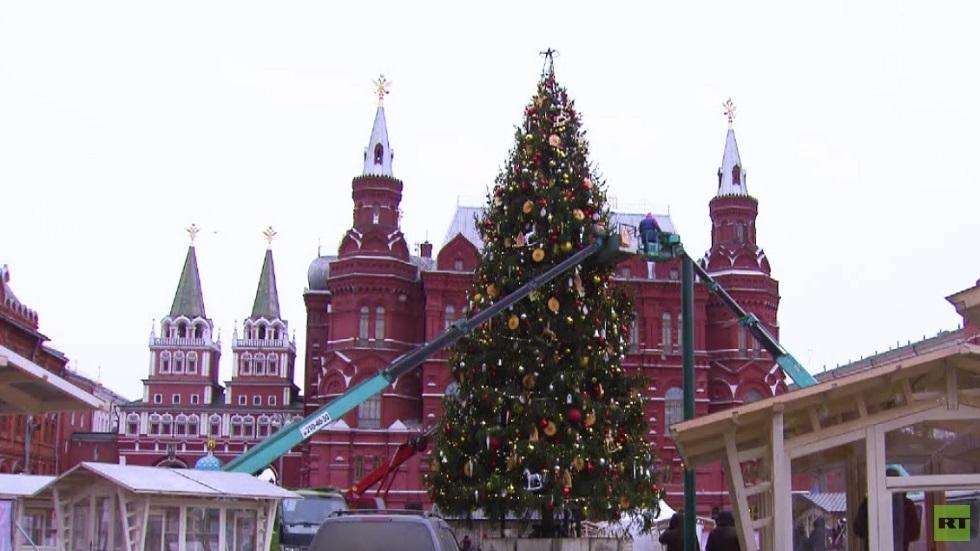 استعدادات بموسكو لفعاليات أعياد الميلاد