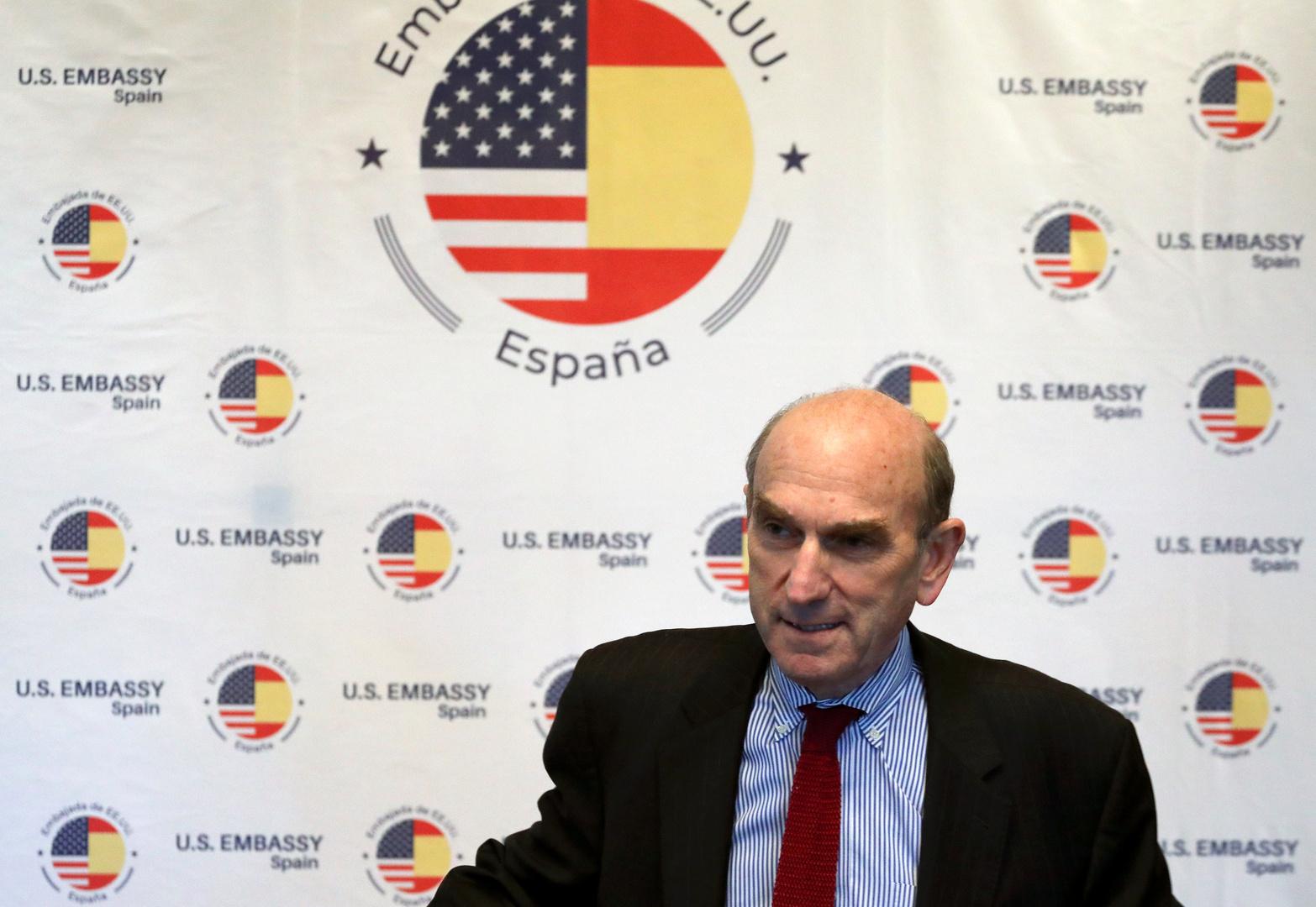 المبعوث الأمريكي إلى شأن فنزويلا إليوت أبرامز