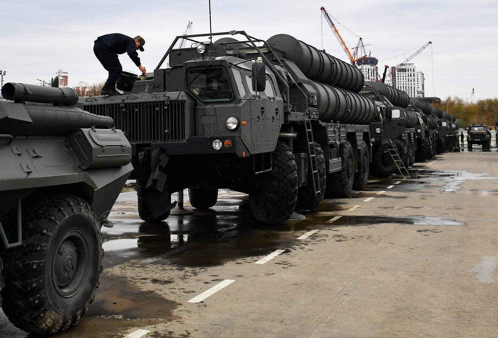 شاهد.. مقاتلات  إف-16  تحلق في اختبار لمنظومة  إس-400  في تركيا -
