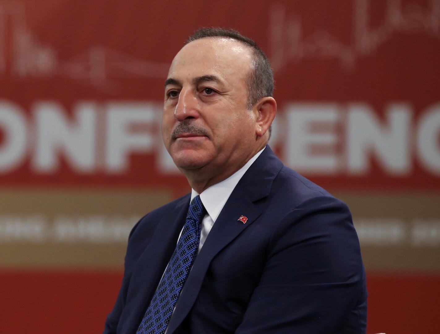 وزير الخارجية التركي مولود تشاووش أوغلو