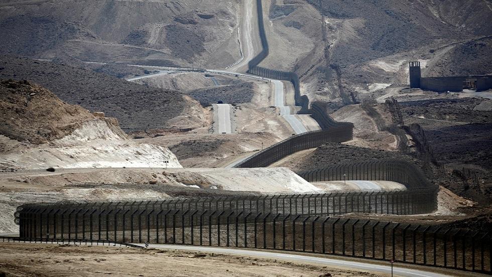 السياج الأمني على الحدود المصرية الإسرائيلية