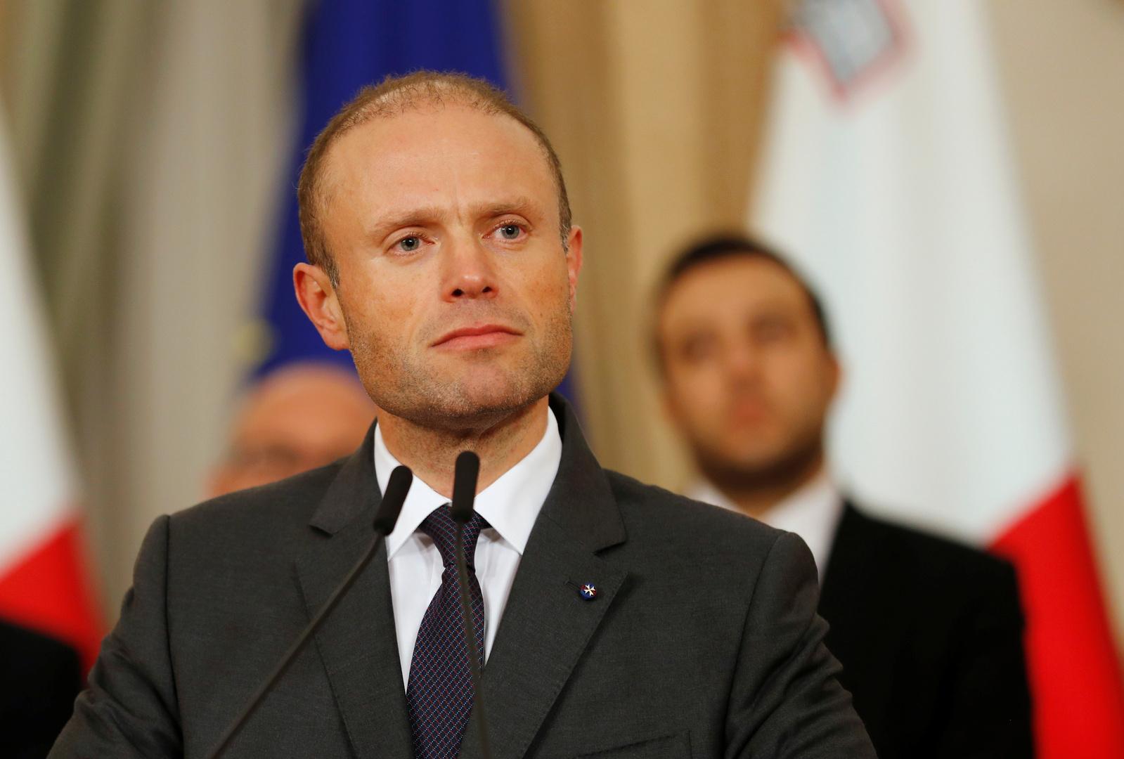 توقعات باستقالة رئيس وزراء مالطا بسبب أزمة اغتيال صحفية