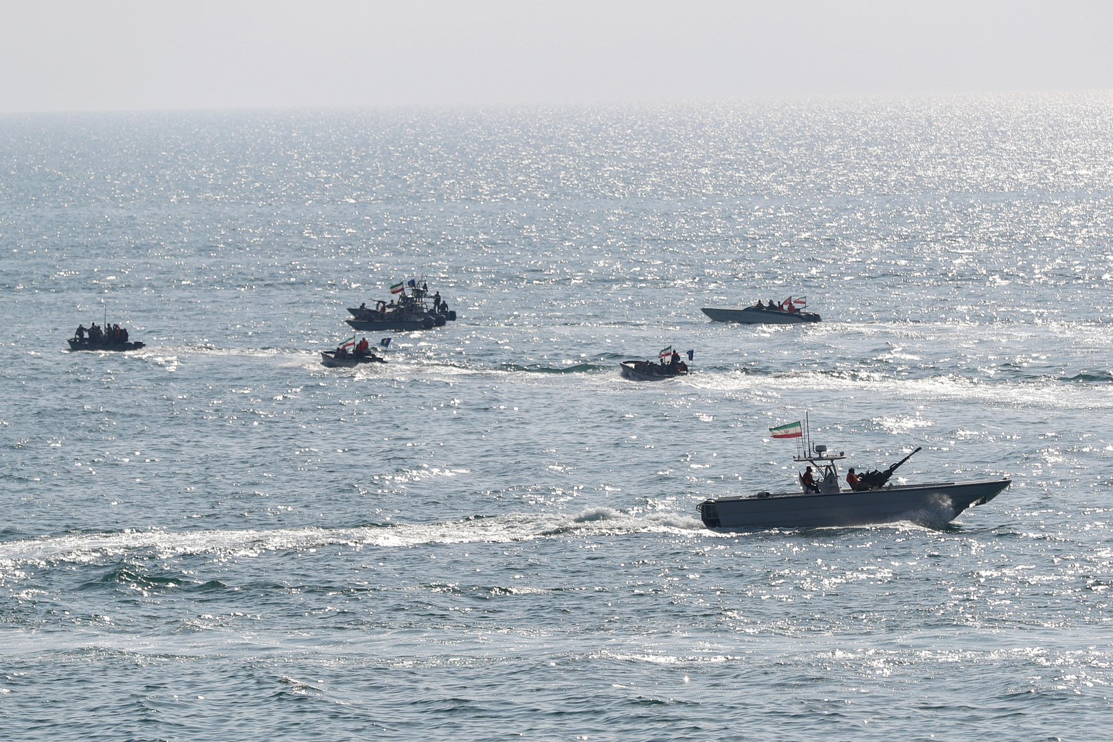 زوارق حربية للقوات البحرية الإيرانية