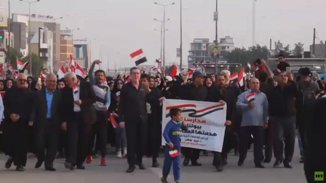 العراق.. تواصل مظاهر الاحتجاج في البصرة
