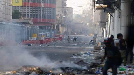 عبد المهدي يتوعد المتظاهرين بعقوبات صارمة تصل إلى السجن عشرين عاما