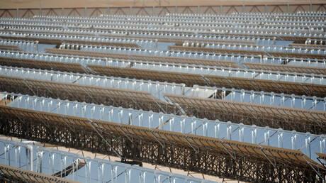 """حريق في محطة """"شمس 1"""" للطاقة بأبو ظبي"""