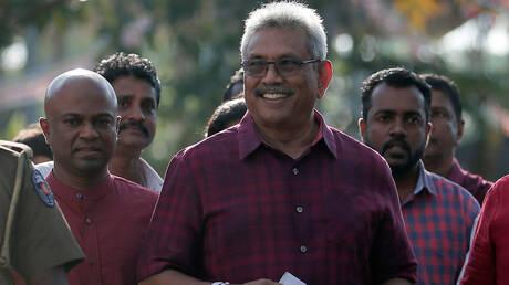 راجاباكسا يفوز بالانتخابات الرئاسية السريلانكية