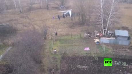 تحطم طائرة عسكرية مسيرة قرب منزل سكني في مدينة ريازان الروسية