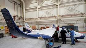 """""""ناسا"""" الأمريكية تعرض أول طائرة كهربائية تجريبية في العالم 5dc706194c59b70333593359"""