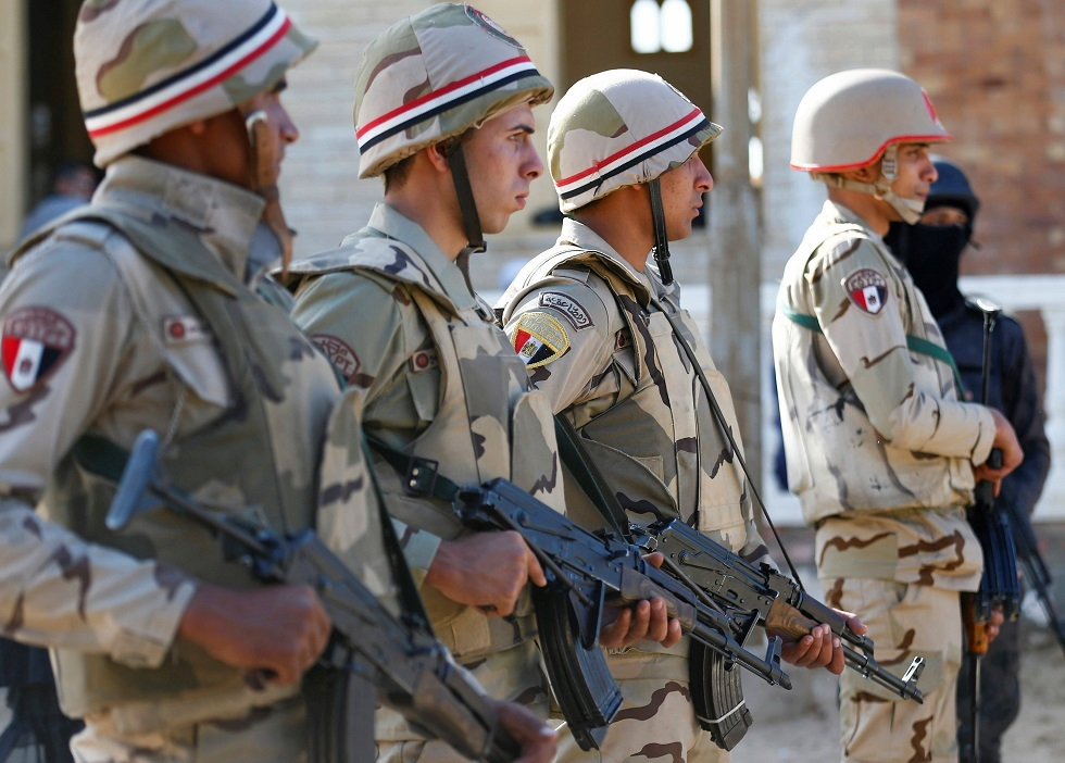 جنود مصريون شمال سيناء