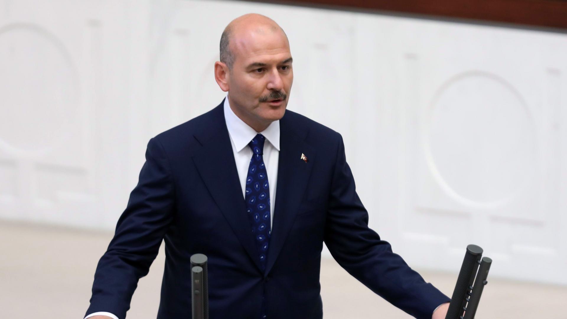 وزير الداخلية التركي سلمان صويلو