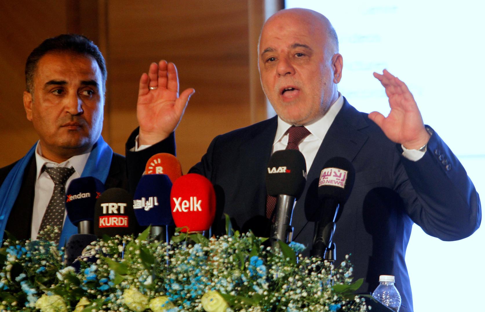 رئيس ائتلاف النصر في العراق، حيدر العبادي - أرشيف