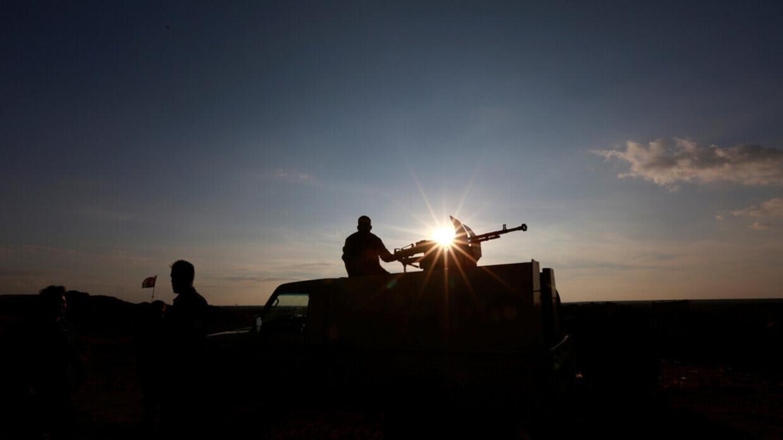 عناصر من قوات الحشد الشعبي في العراق