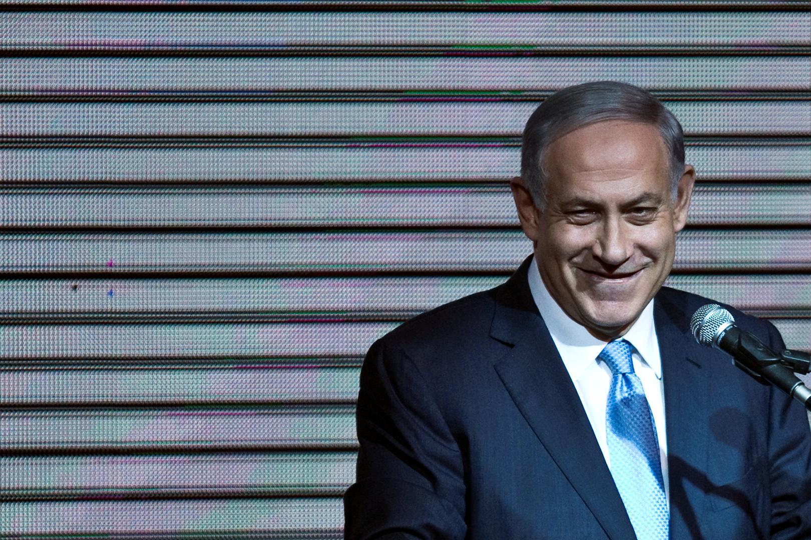رئيس حكومة تصريف الأعمال الإسرائيلية، بنيامين نتنياهو