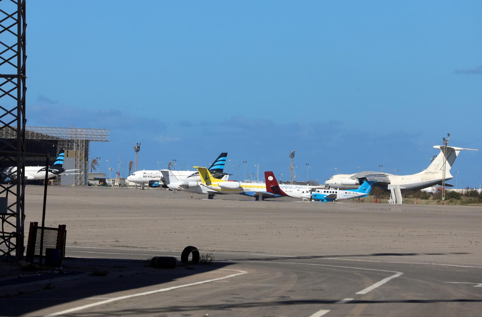 طرابلس تعلن عن استئناف عمل مطار معيتيقة في 12 ديسمبر