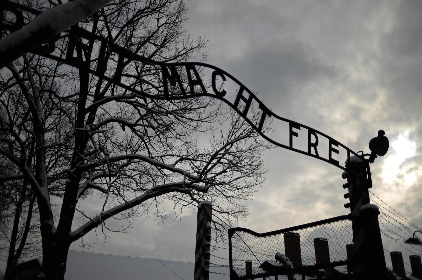 البوابة المركزية لمعسكر