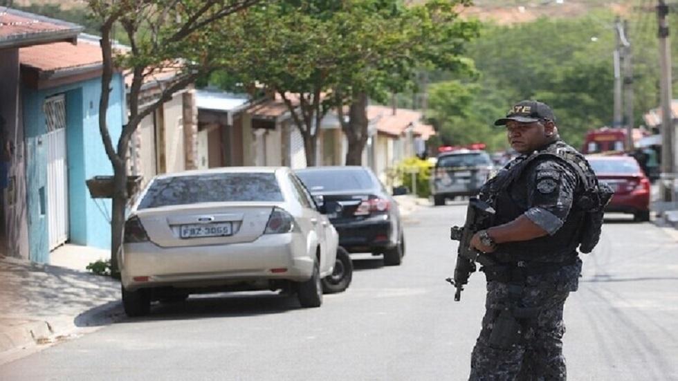 عنصر من الشرطة البرازيلية- صورة أرشيفية