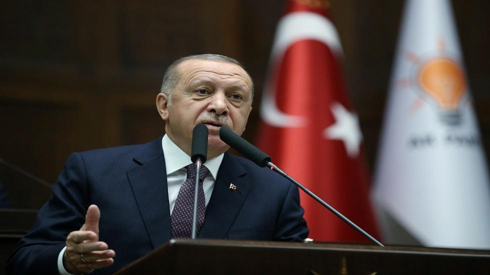 أردوغان:  اتفاق النفوذ البحري مع ليبيا حق سيادي ولن نناقشه