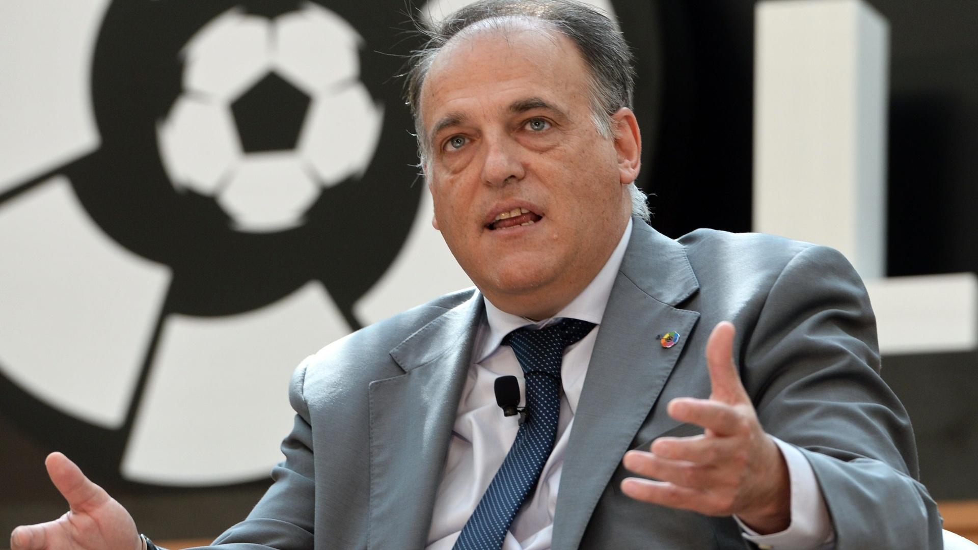 رئيس رابطة  الدوري الإسباني يستقيل للترشح مجددا