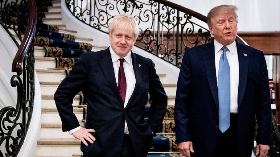 ترامب: لن أتدخل في انتخابات بريطانيا وجونسون شخص ملائم