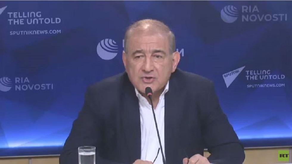 رئيس منصة موسكو للمعارضة السورية: الحكومة والمعارضة أظهرتا سلوكا غير مسؤول في اللجنة الدستورية