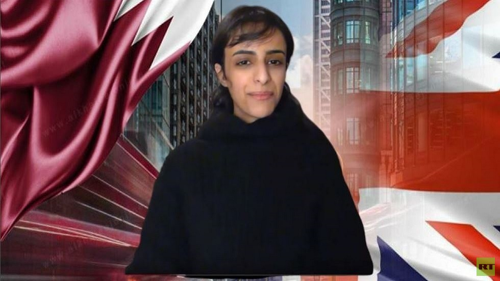 فتاة قطرية تهرب إلى بريطانيا وتطلب اللجوء (فيديو)