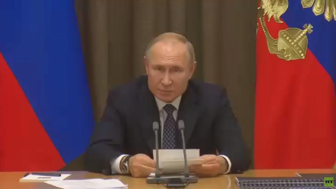 بوتين: توسع الناتو واقترابه من حدودنا خطر