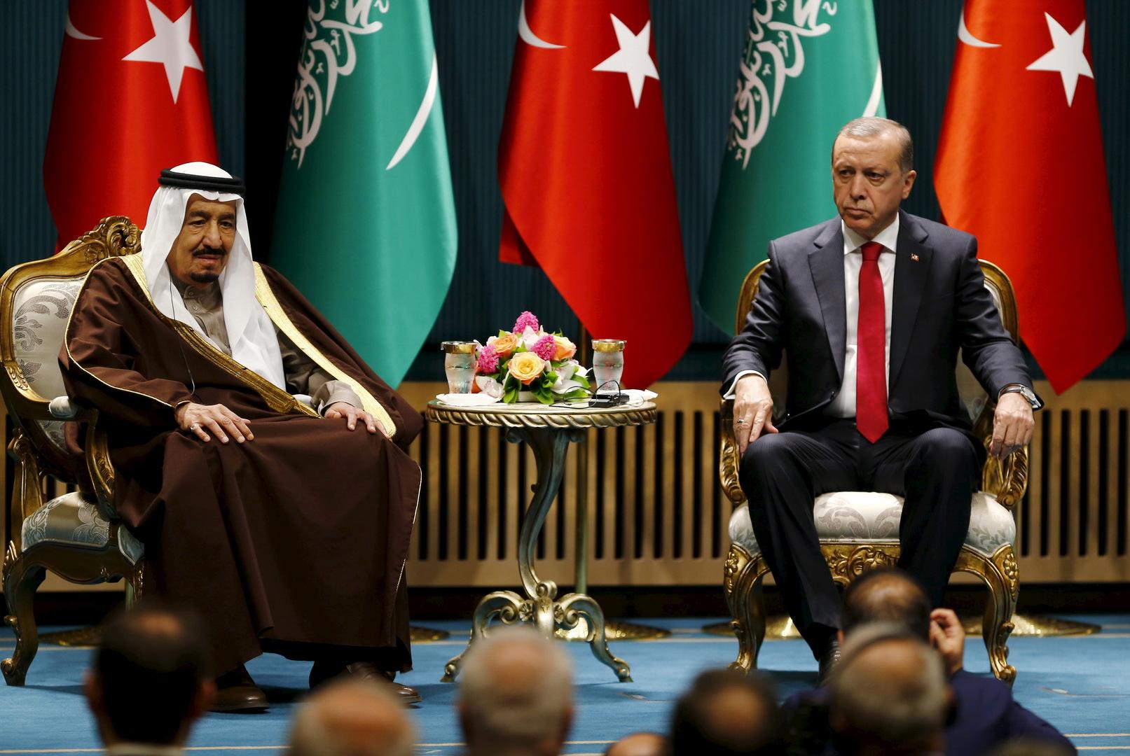 الملك سلمان يتلقى اتصالا هاتفيا من أردوغان