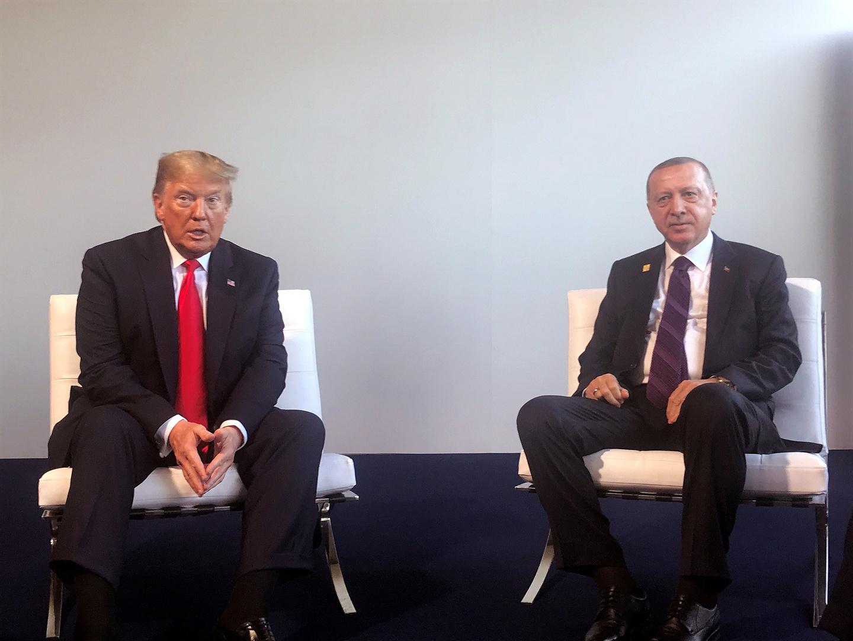 أردوغان يلتقي ترامب على هامش قمة الناتو في لندن