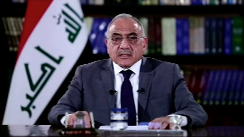 عبد المهدي: استقالتي أحد الحلول للأزمة الحالية