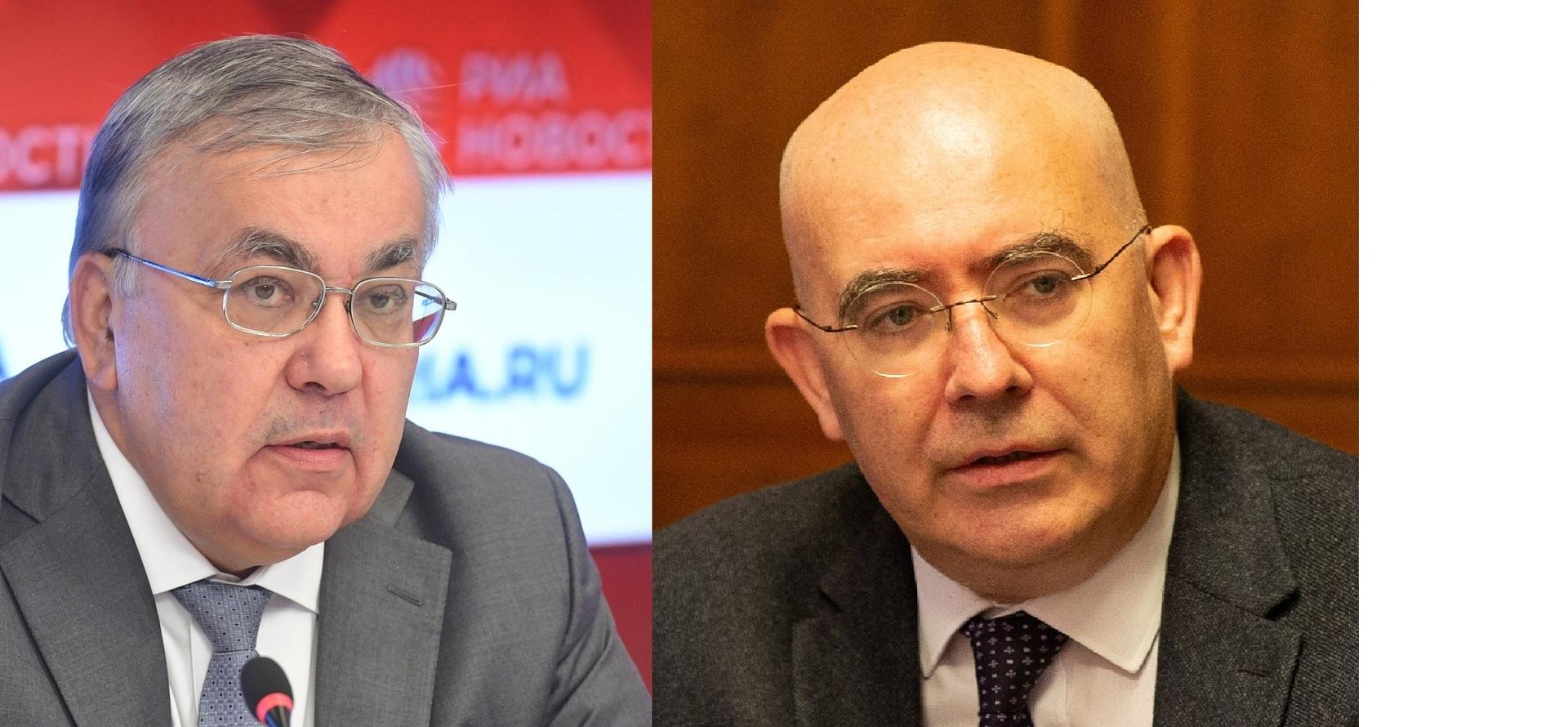 مشاورات روسية بريطانية حول الوضع في سوريا والمنطقة