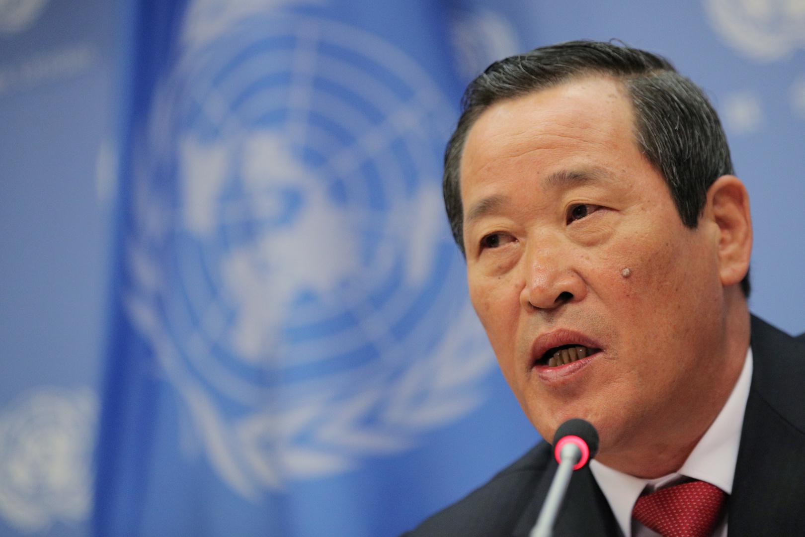 مندوب كوريا الشمالية لدى الأمم المتحدة كيم سونغ