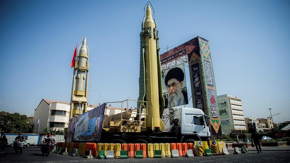 معرض للصواريخ الإيرانية في طهران (صورة أرشيفية)