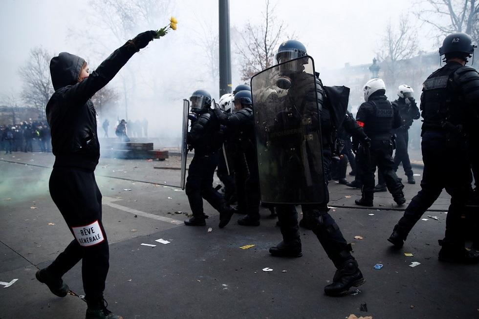 اشتباكات باريس اليوم