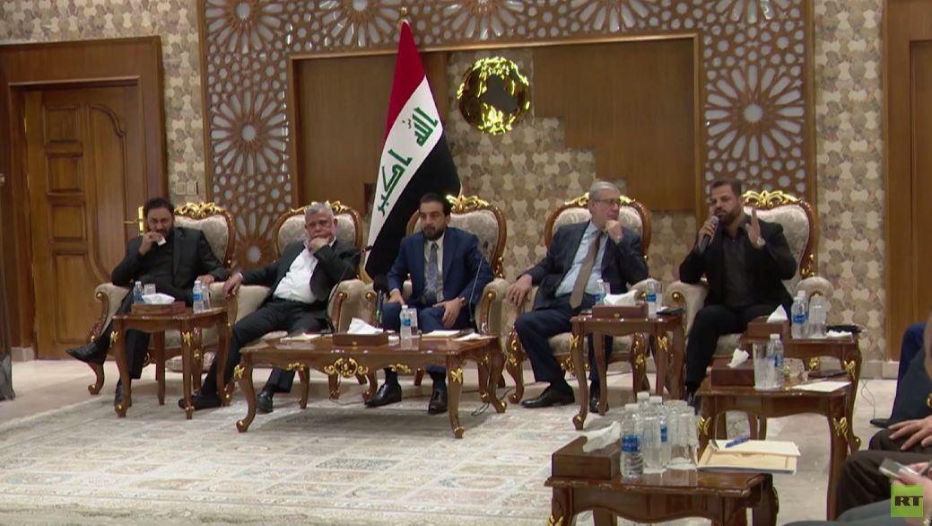 مشاورات مكثفة بين القوى العراقية للاتفاق بشأن الجهـة التي ستسمي رئيـس الحكومة