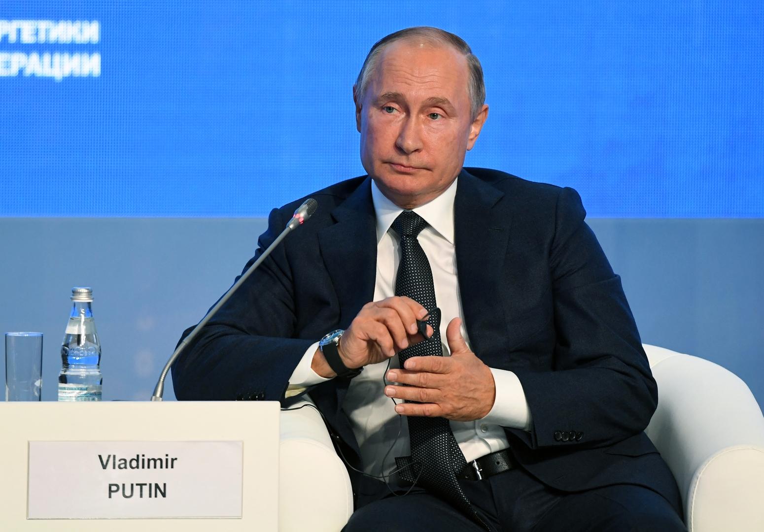 بوتين يوافق على مشروع لضخ الغاز الروسي إلى الصين عبر منغوليا
