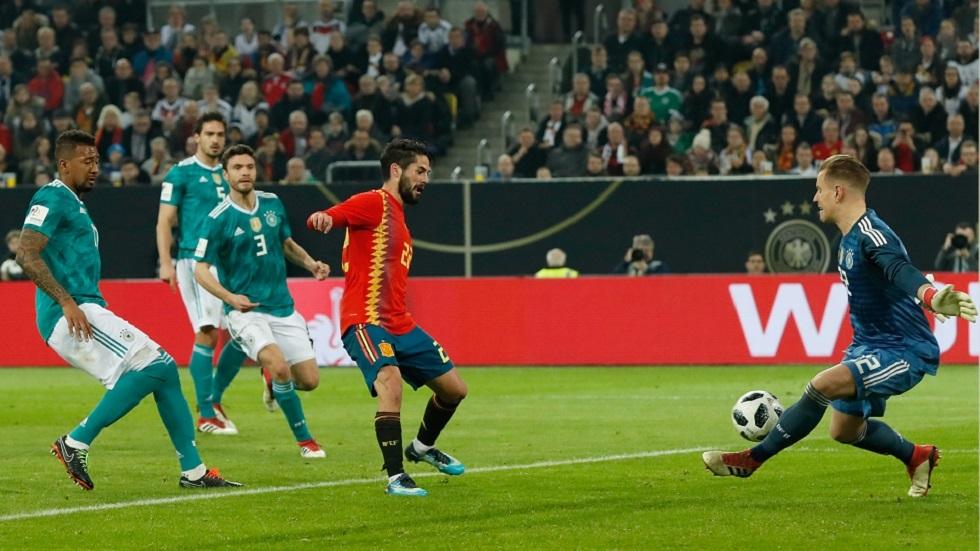 إسبانيا تلتقي ألمانيا وديا استعدادا ليورو 2020
