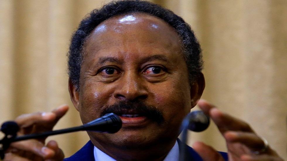 رئيس الحكومة السودانية الانتقالية عبد الله حمدوك (صورة أرشيفية)