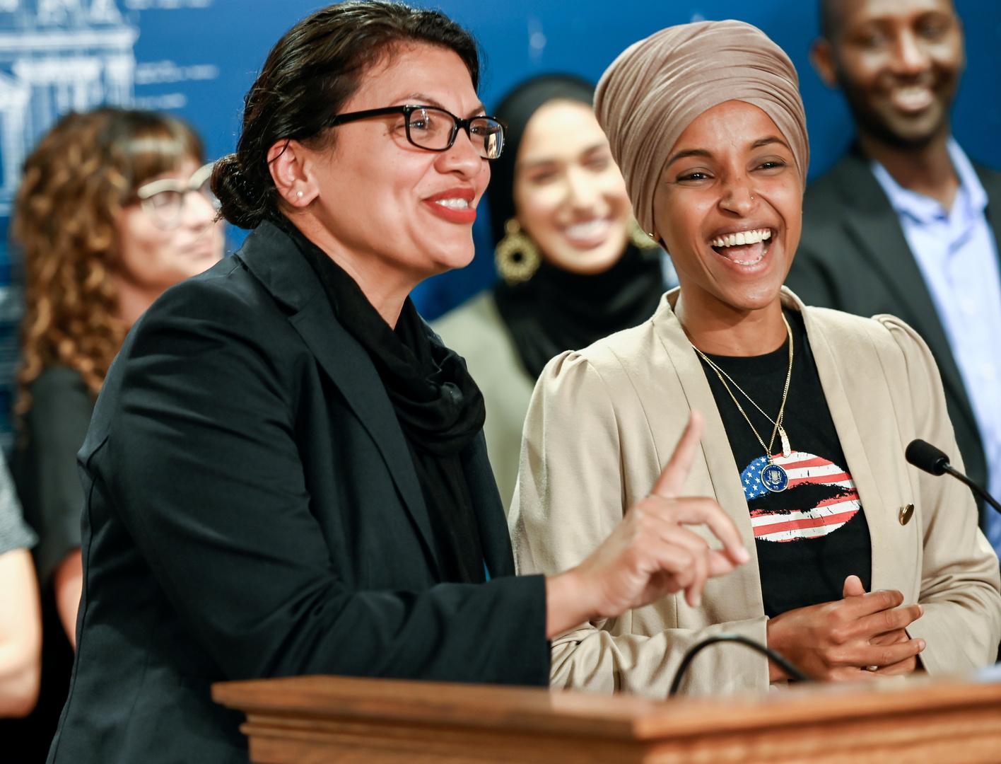 أول نائبتين مسلمتين في الكونغرس تتعرضان لحملة تشهير من إسرائيل في