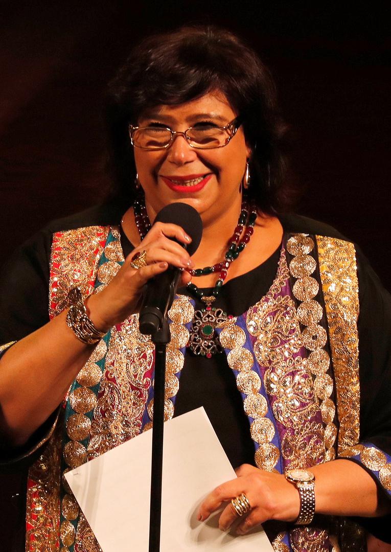 وزيرة الثقافة المصرية إيناس عبد الدايم