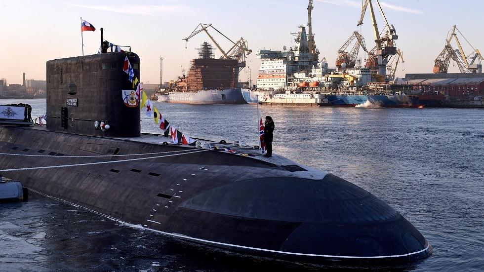أسطول المحيط الهادئ الروسي يتسلم غواصة صاروخية متطورة