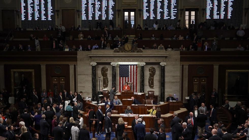 مجلس النواب الأمريكي يتبنى قرارا داعما لحل الدولتين