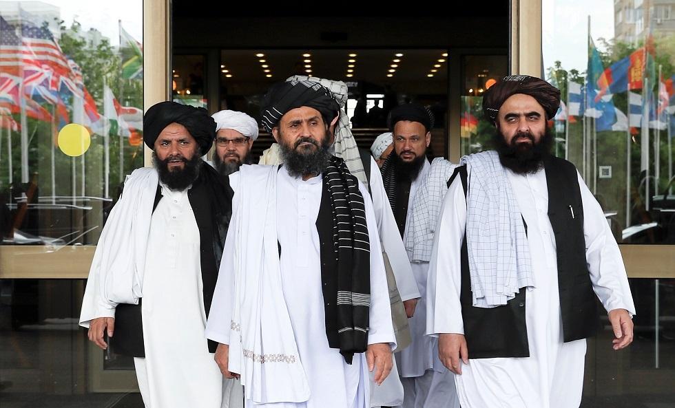 وفد مفاوض من حركة طالبان -أرشيف-