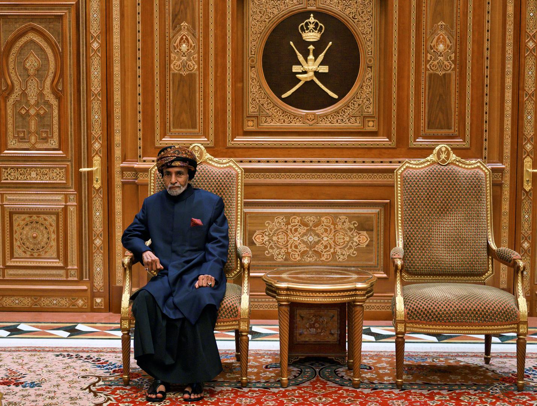 سلطان عمان يخضع لفحوصات طبية في بلجيكا