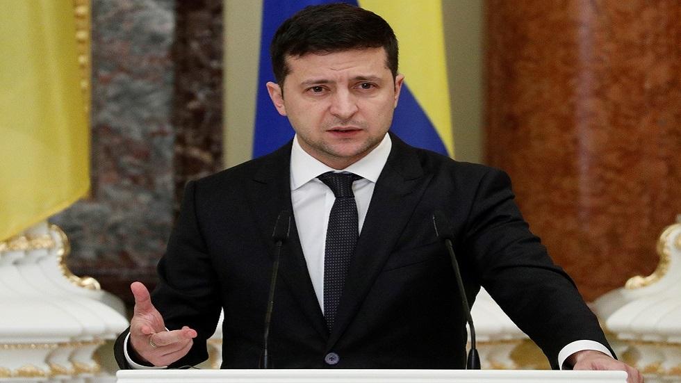 زيلينسكي: أريد لقاء بوتين وجها لوجه