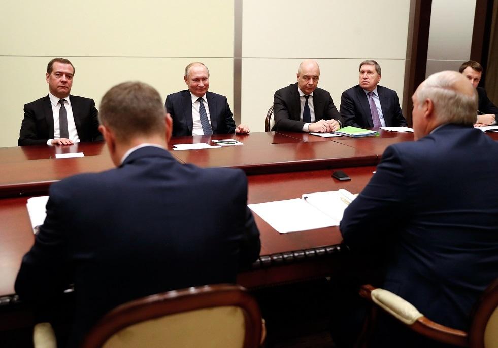 انطفاء مفاجئ للكهرباء خلال مباحثات بوتين - لوكاشينكو