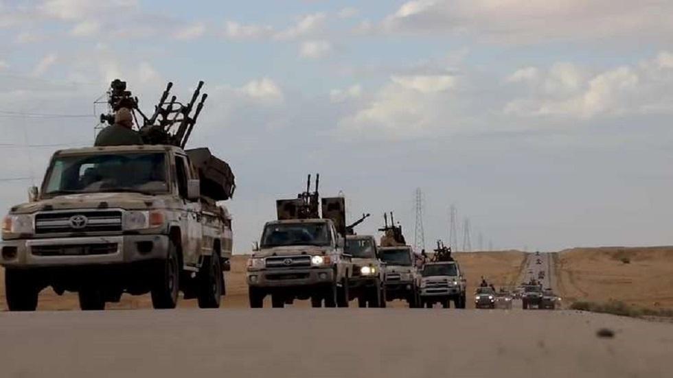 القوات التابعة للمشير خليفة حفتر - أرشيف