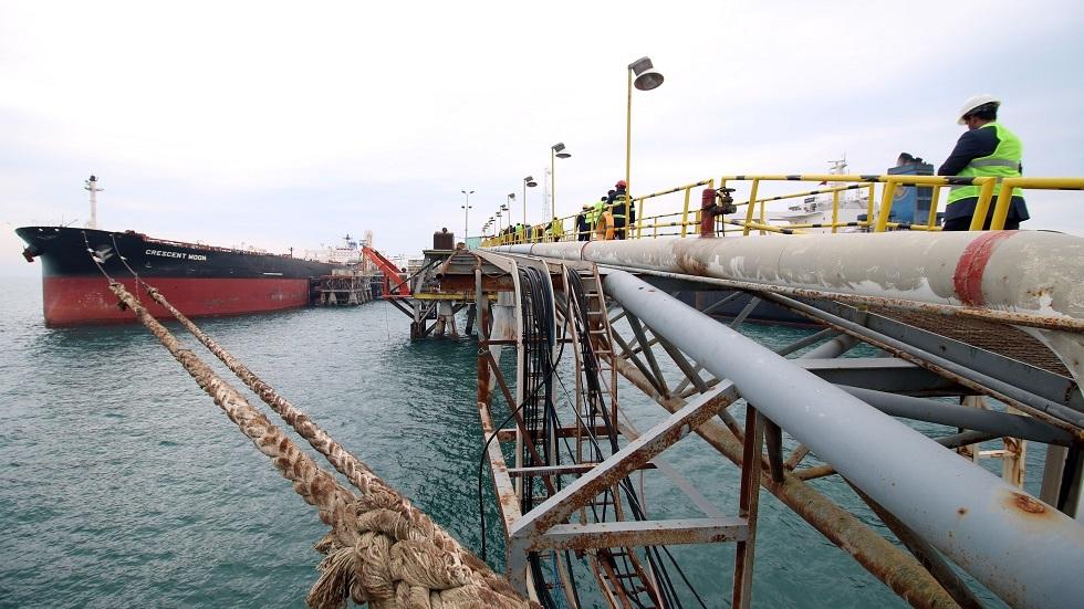 ميناء الفاو النفطي في العراق - أرشيف
